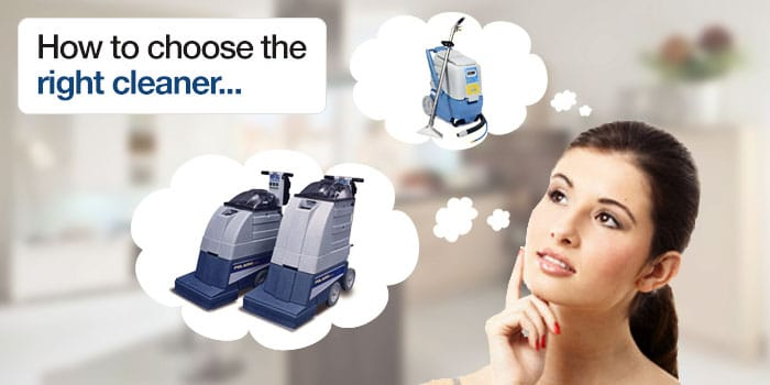 How to Choose the Right Carpet Cleaner