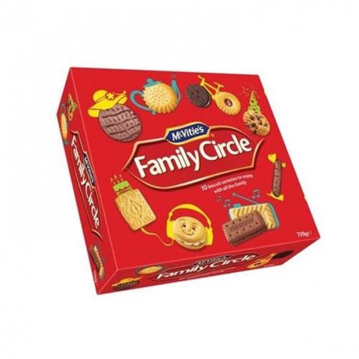 Family Circle Biscuits 670g