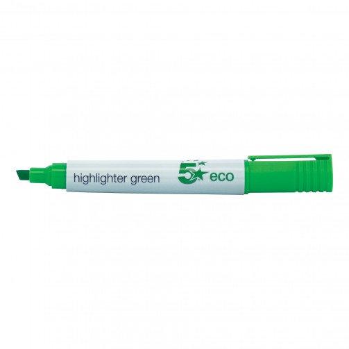 5 Star Eco Highlighter Green