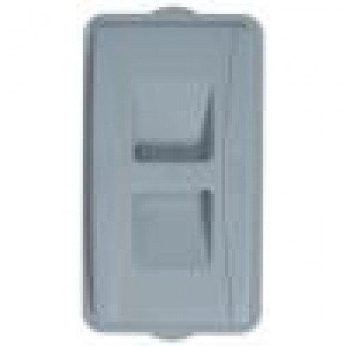 Wall Hugger Recycle Lid Grey