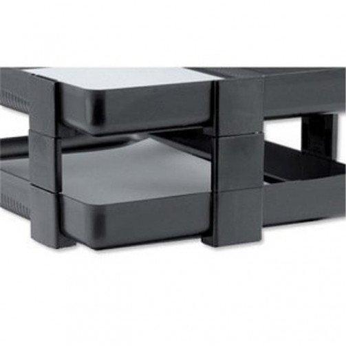 Rexel V/H Risers Pk5 Charcoal 25224