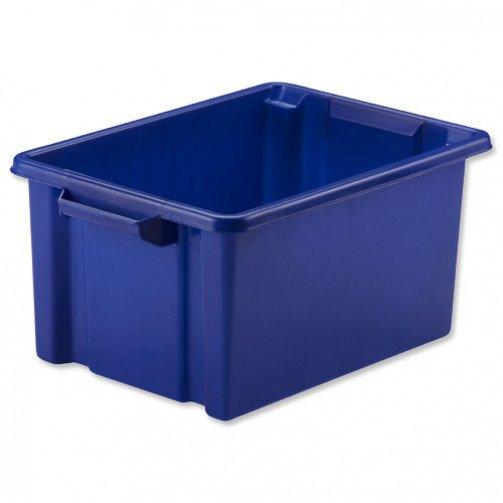 Strata Midi Storemaster Crate Blu Hw44BU