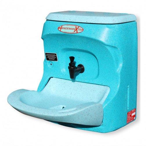 Teal Handeman Portable Handwashing Station