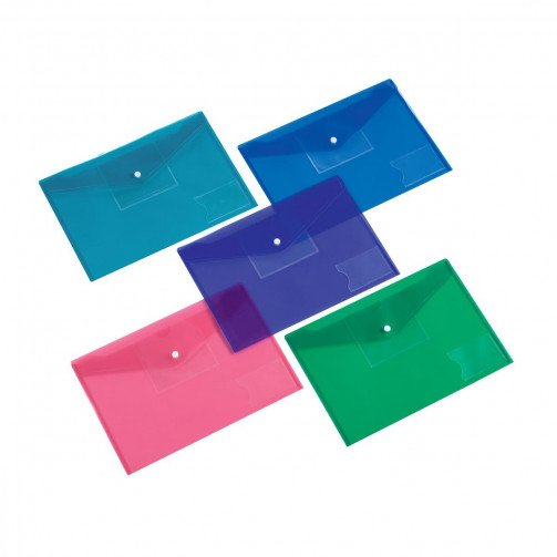 5 Star Office Diskette Pocket A4 Ast Pk5