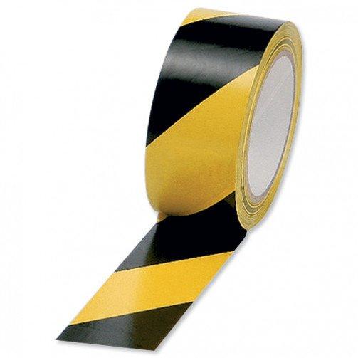5 Star Hazard Tape Black/Yellow