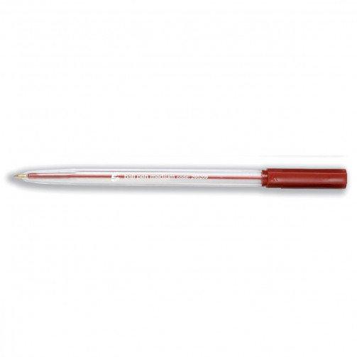 5 Star Office Medium Ball Pen Red