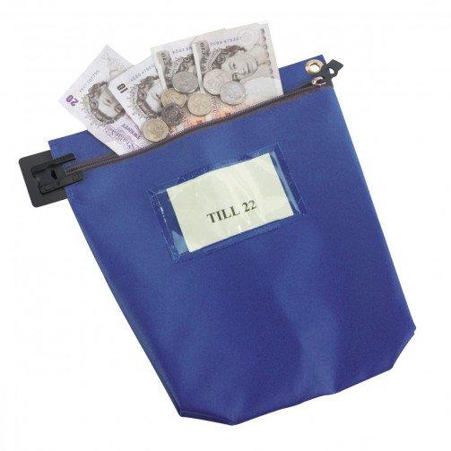 Medium Cash Bag Blue CB1B
