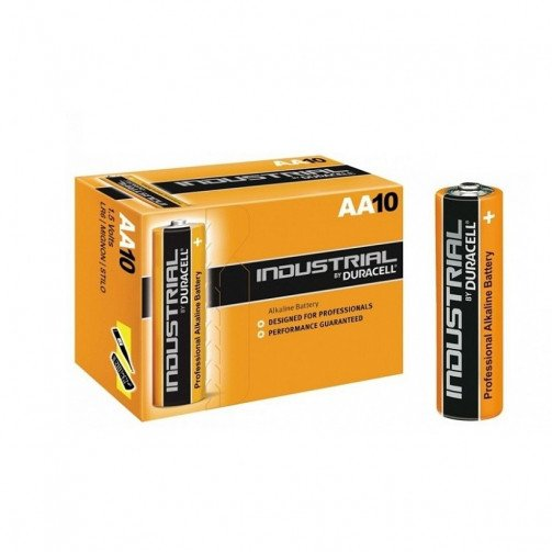 Batteries Duracell Industrial  ' AA '  x pack of 10