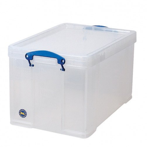 Really Useful Products 84L Box Clear