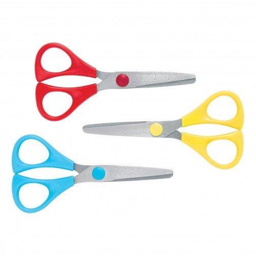 5 Star School Scissors PK30 AST