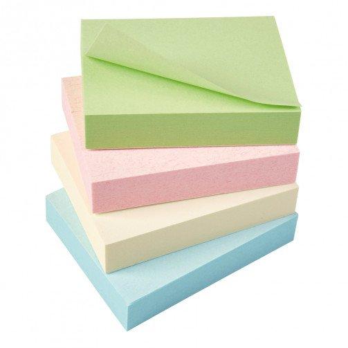 5 Star Eco Rcyld Notes 38x51 Pastel Pk12