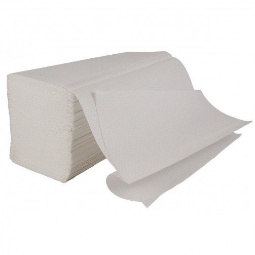 Interfold Hand Towels 2Ply Carry Pack White x 3000