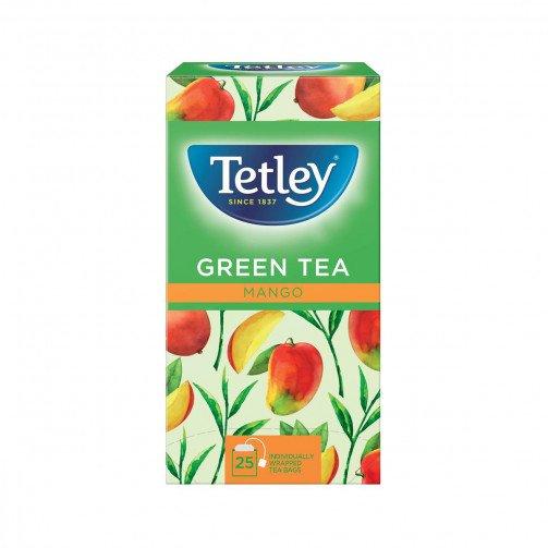 Tetley Green Mango Env 25x1.5g