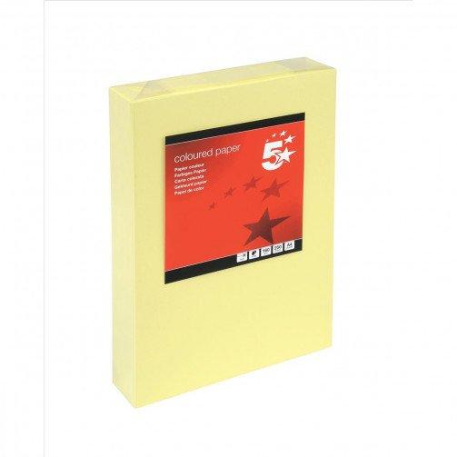 5 Star Tint Cd A4 160g L/Yell Pk250