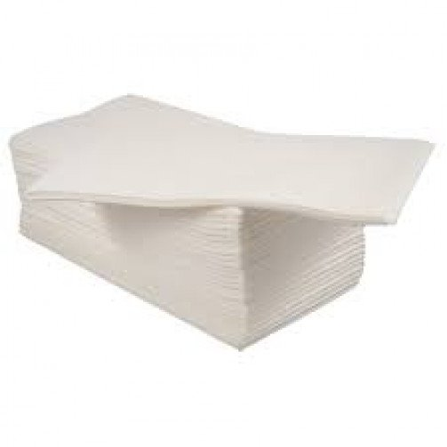 White Airlaid Napkins 33cm 8-fold x 500