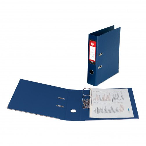 5 Star Office PP L/Arch File A4 Blu