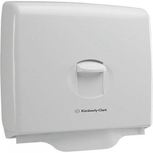 White Aquarius Seat Cover Dispenser