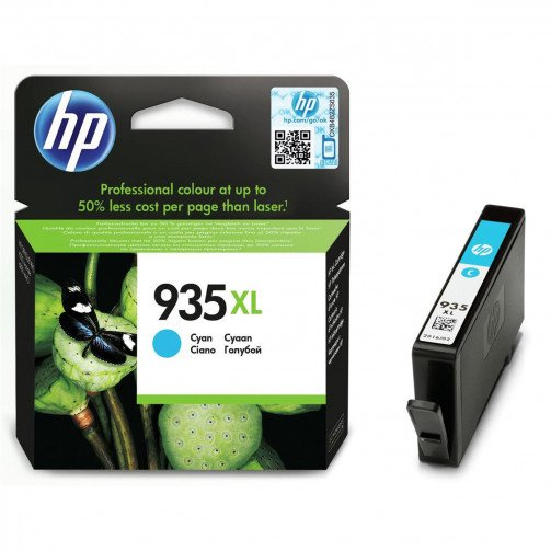 HP 935XL Ink Cart HY Cyan C2P24AE