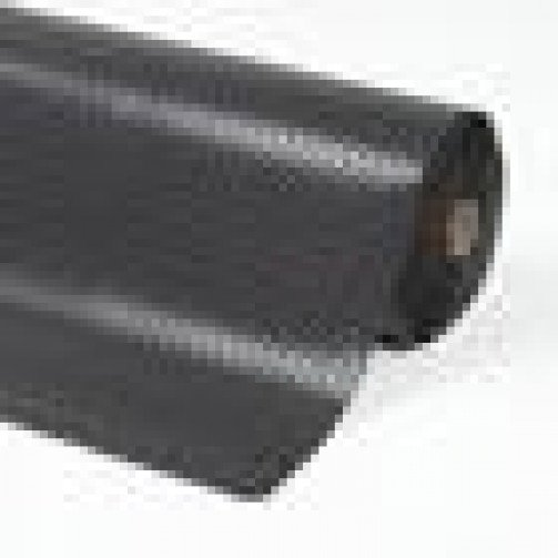 Kumfi Tough Super Roll Mat 3 '  X 75 '  Black