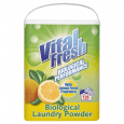 Vital Fresh Biological Washing Powder Lemon 135 Wash.