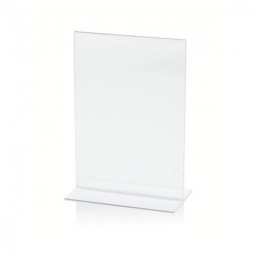 Stand Up SignHolder A5 Dble Portrait Clr