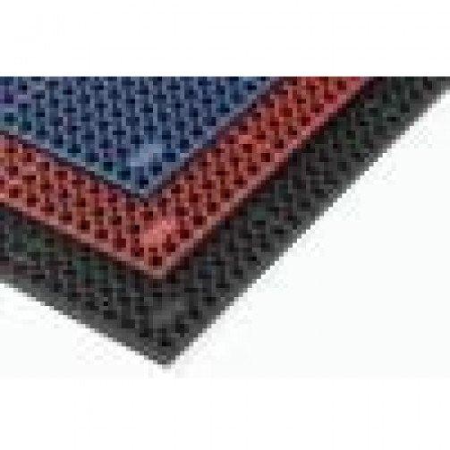 Workzone Duckboard Mat Red/Blue