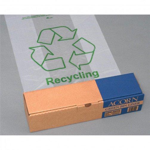 Acorn GreenBinLiners60L 630x860 Clr Pk50