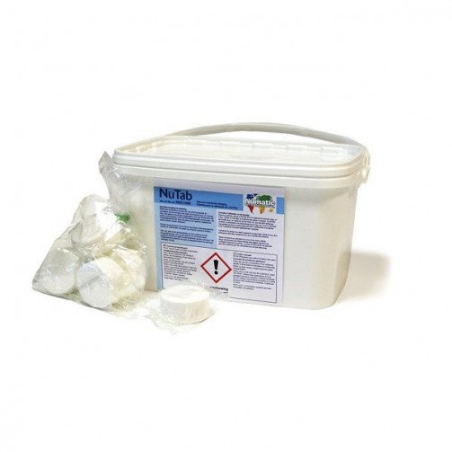 Numatic NuTab Low Foaming Tablets for Scrubber Dryers