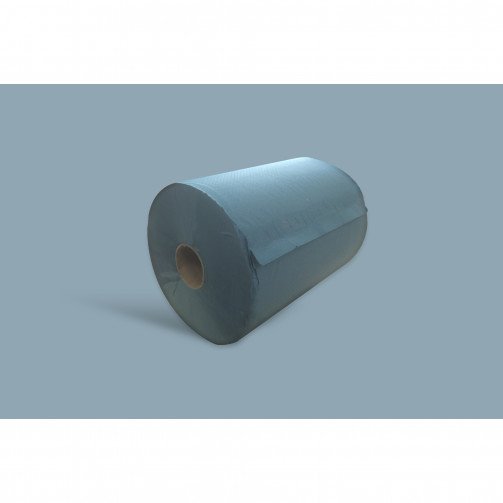 Blue Hand Towel Roll 1Ply