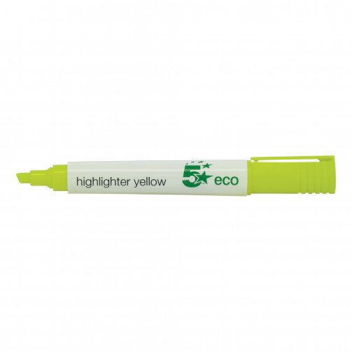 5 Star Eco Highlighter Yellow
