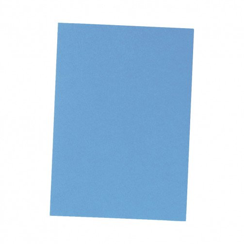 5 Star Leather Grain Covers Blue Pk100