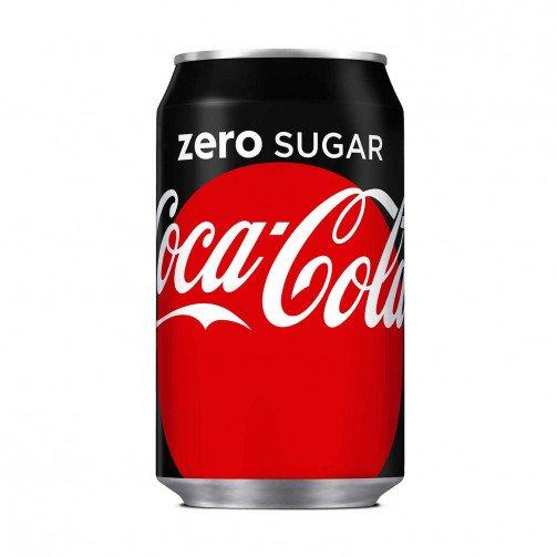Coca Cola Zero 330ml Can Pk 24