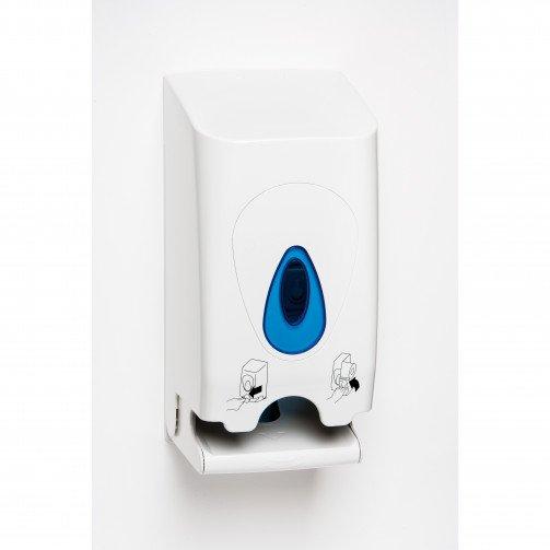 Modular Twin Toilet Roll Plastic Dispenser