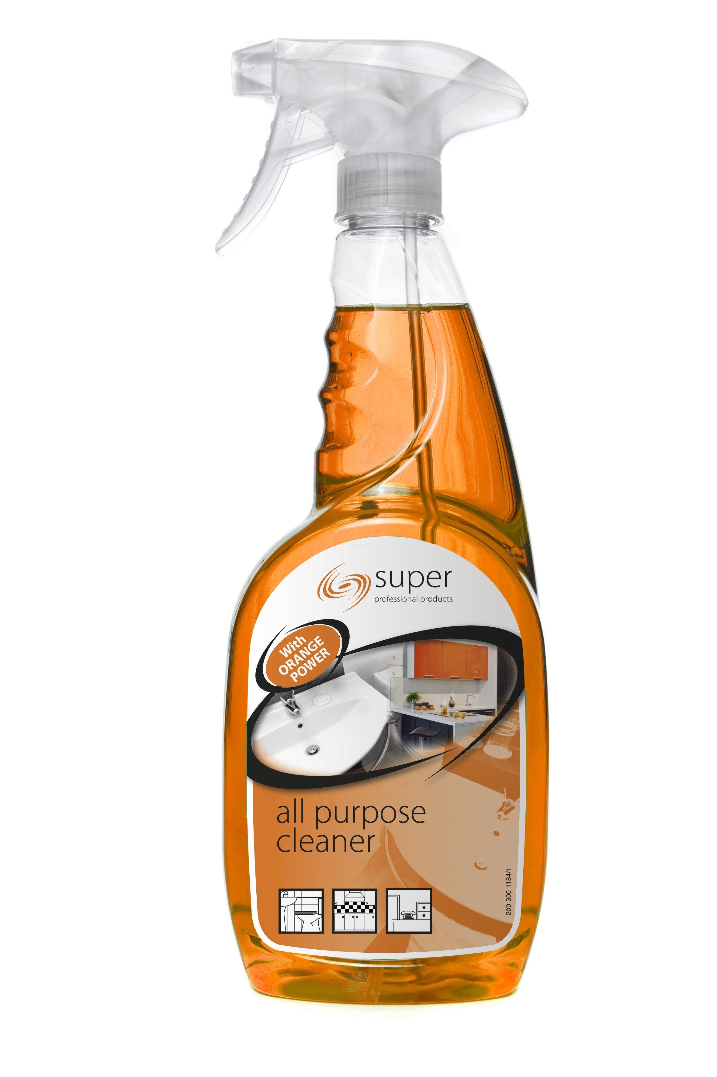 Super All Purpose Cleaner W Natural Orange 750ml