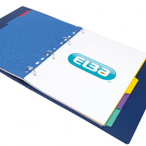 Elba Divider 5Prt A4 Asst 400007512
