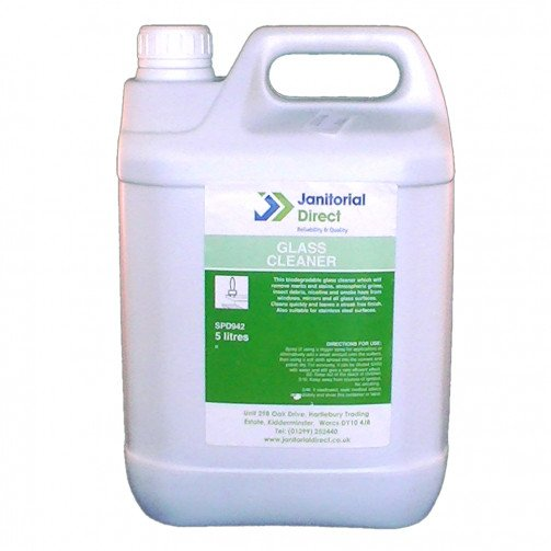 Window and Glass Cleaner 5 Litre