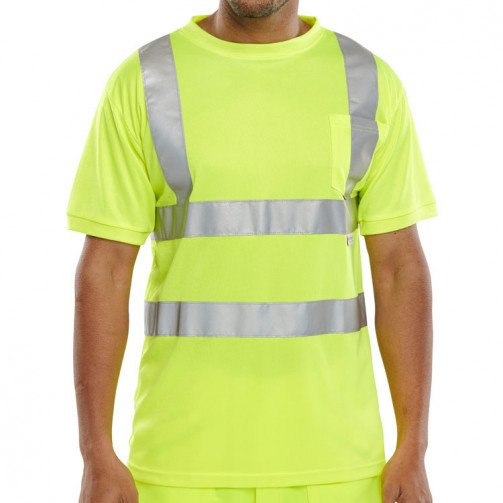 High Visibility Crew Neck T-Shirt