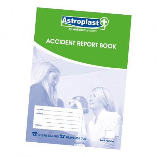 Astroplast Accident Rprt Book A4 5401011