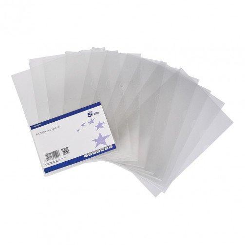 5 Star Elite PP Folder Clear pk10