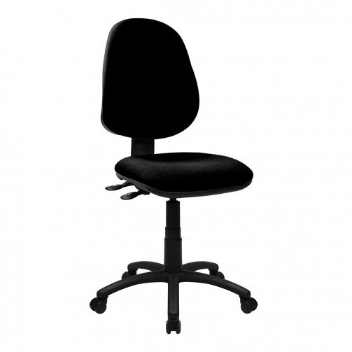 Nile 300 Black - High Back Synchronised Operator Chair  Black