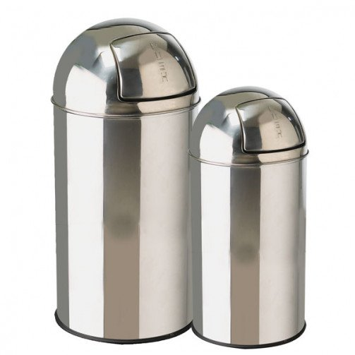 Stainless Steel Bullet Bin 40 Litre CO539IN x 4
