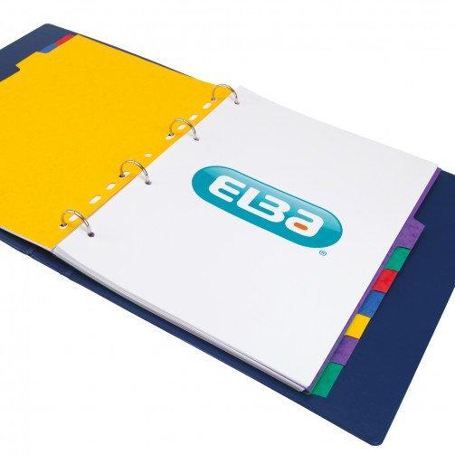 Elba Divider 10Prt A4 Asst 400007513