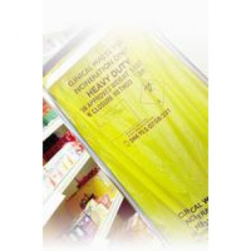 Yellow Clinical Waste Bags Heavy Duty 90 Litres