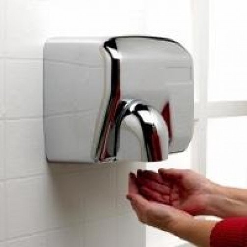 Kleenhands Superior Hand Dryer Chrome