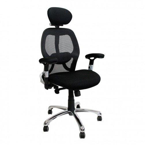 Colarado Black - Ergonomic 24 Hour High Back Mesh Chair Black