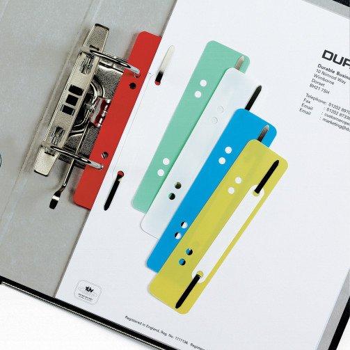 Durable Flexi Filing Strip Fastener Pk25