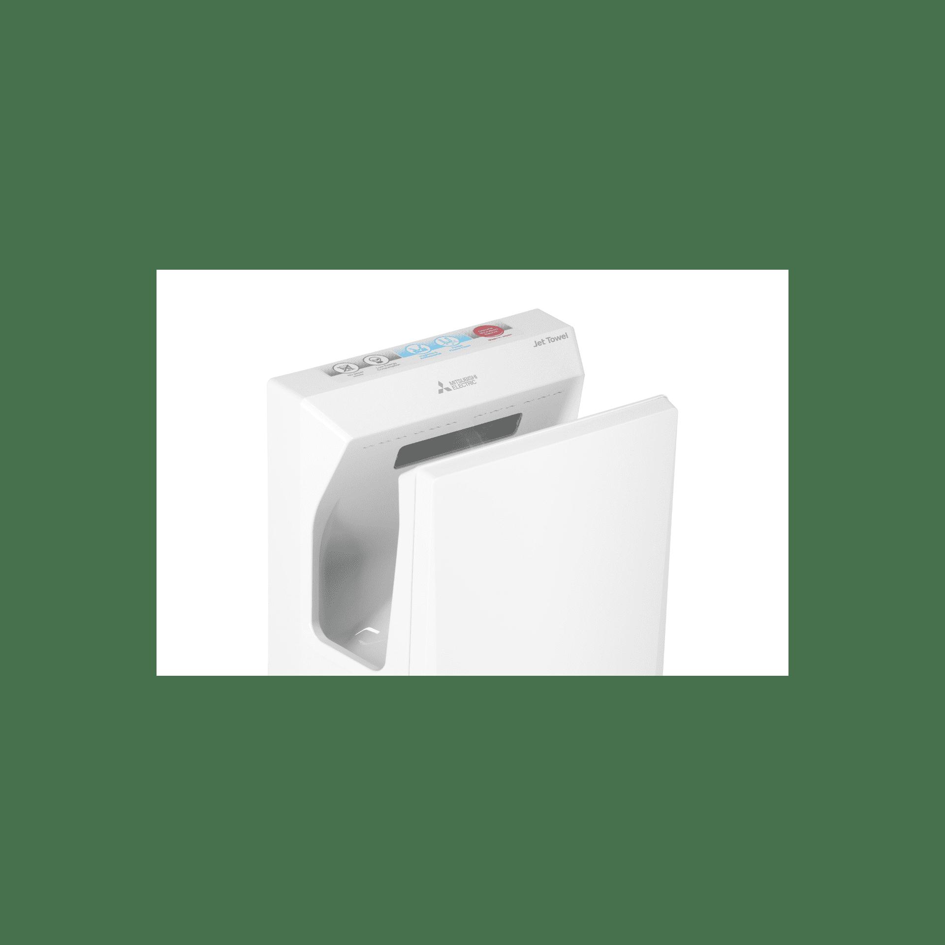hand w mitsubishi lite unheated whiteqm jet ne smart white dryer towel products jt