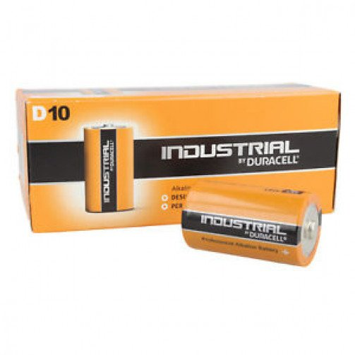 Batteries Duracell Industrial  ' D '  x pack of 10