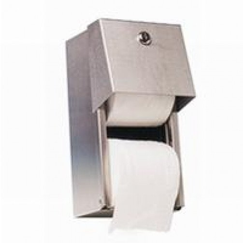 Dolphin St/Steel Standard Toilet Roll Holder