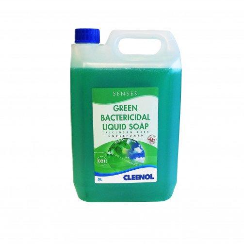 Soap - Green Bactericidal Hand Wash -  5L